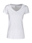 Harvest Whailford Lady slub V-neck White