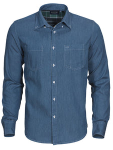 Harvest Jupiter shirt Light denim