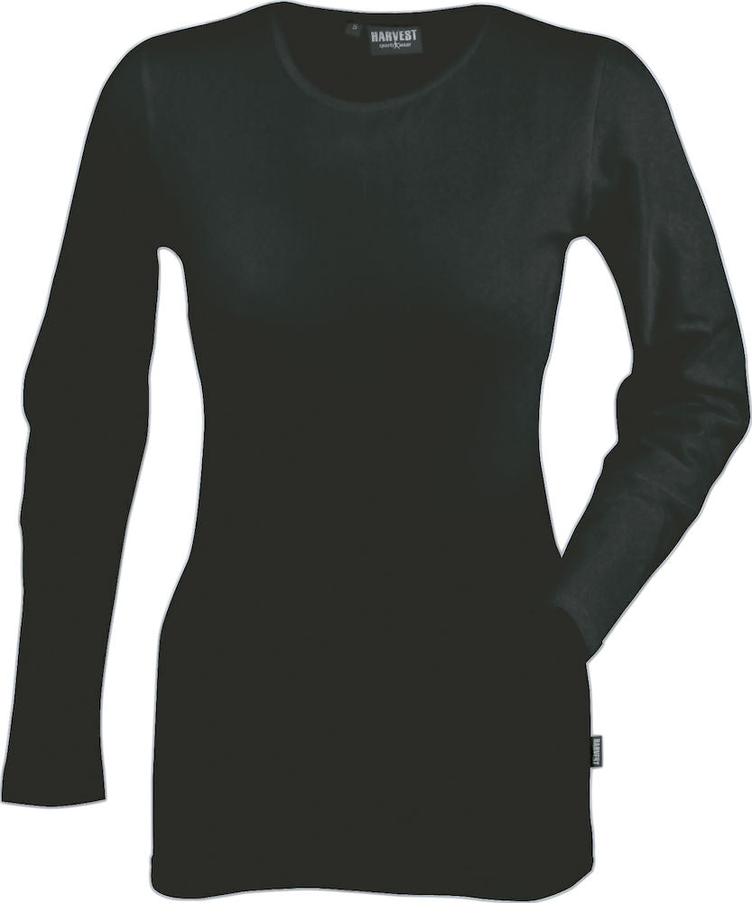 Harvest Louisiana lady l/s top Black