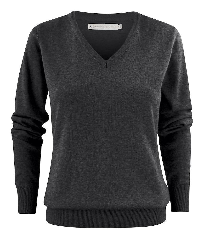 Harvest Ashland Lady V-neck Anthrac mel L