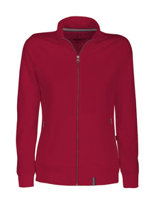 Harvest Novahill Lady sweatjacket Red