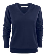 Harvest Ashland Lady V-neck Navy