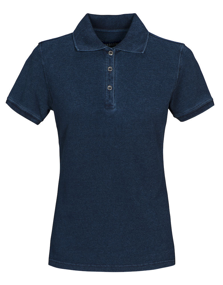 Harvest Fordham Lady polo Blue denim