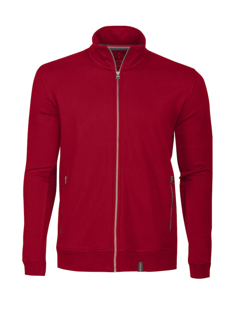 Harvest Novahill sweatjacket Red