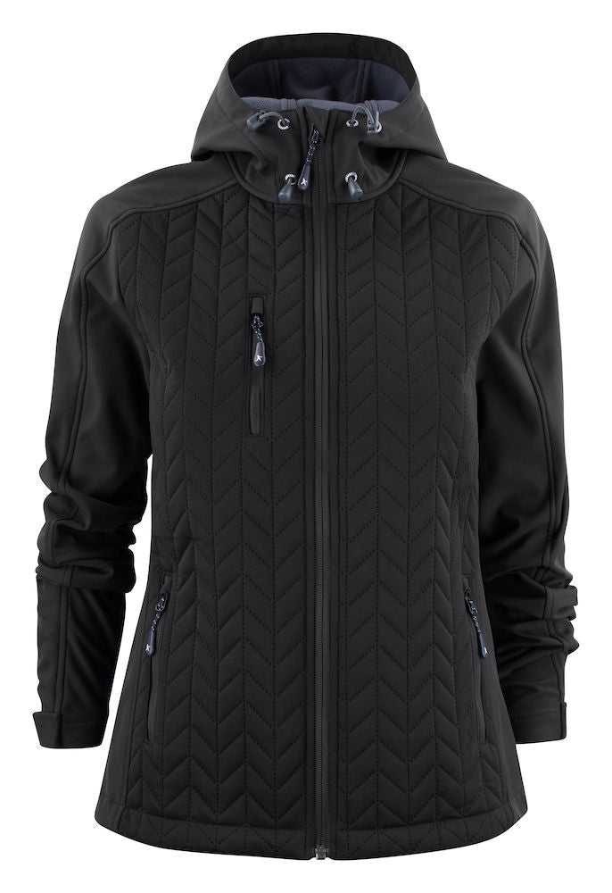 Harvest Myers Lady Softshell jacket Black XL