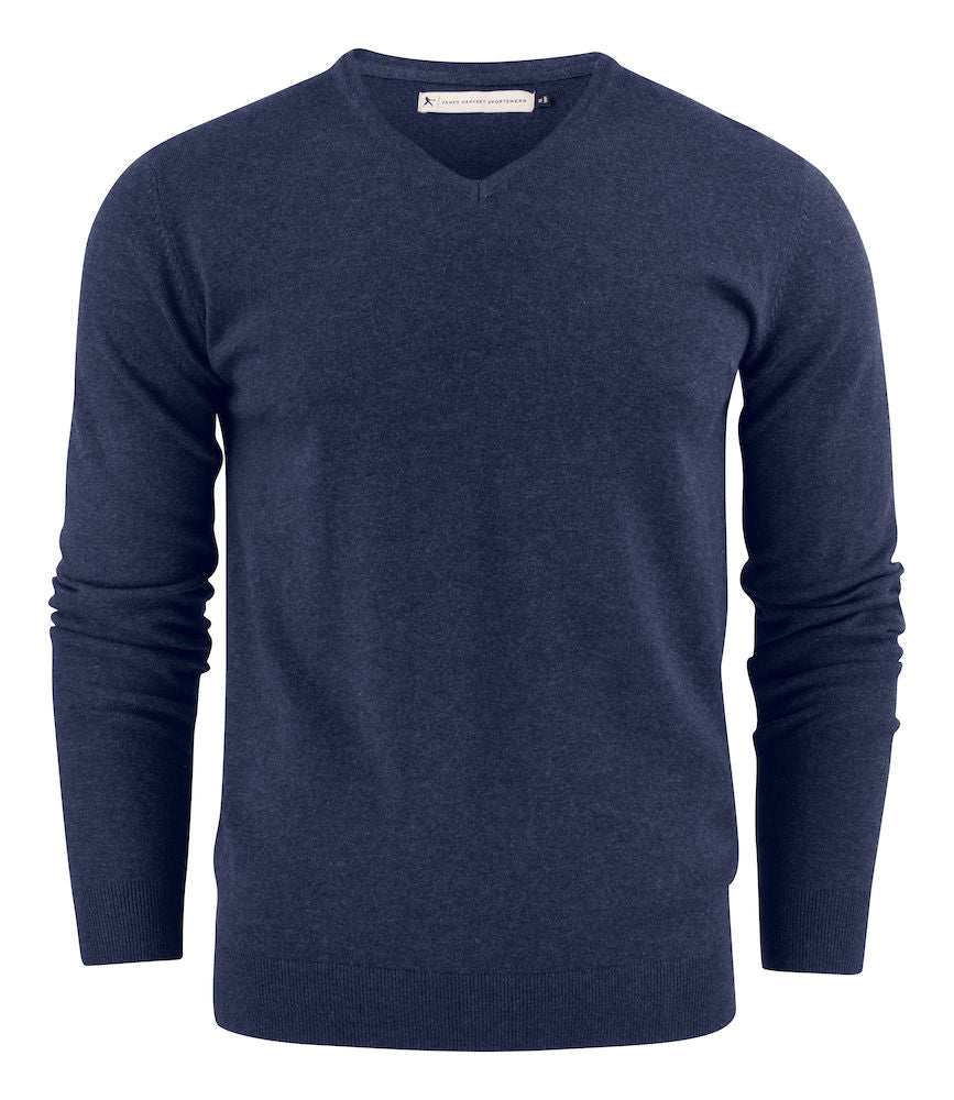 Harvest Ashland V-neck Blue melange