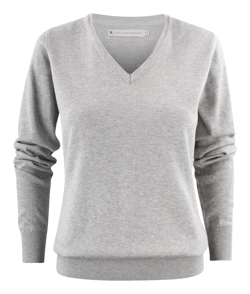 Harvest Ashland Lady V-neck Grey melange