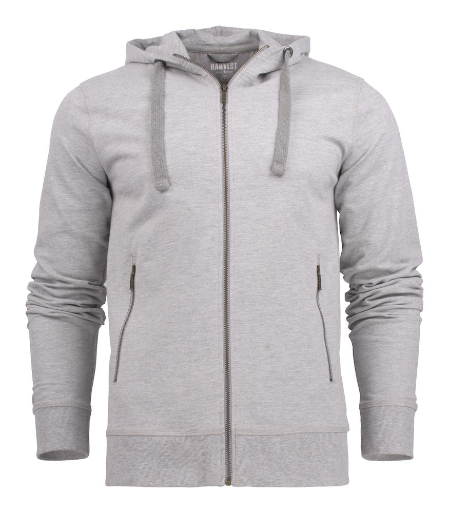 Harvest Duke college jacket Grey Melange