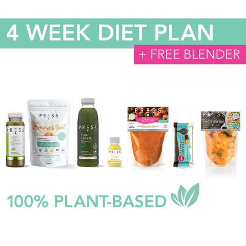 4 week diet plan
