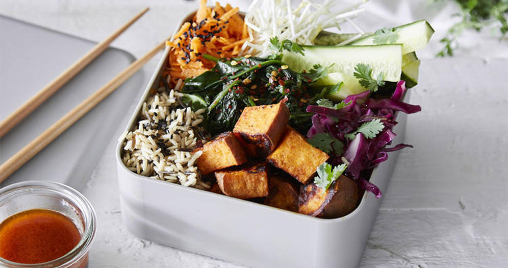 Buddha Veggie Lunchbox recipe