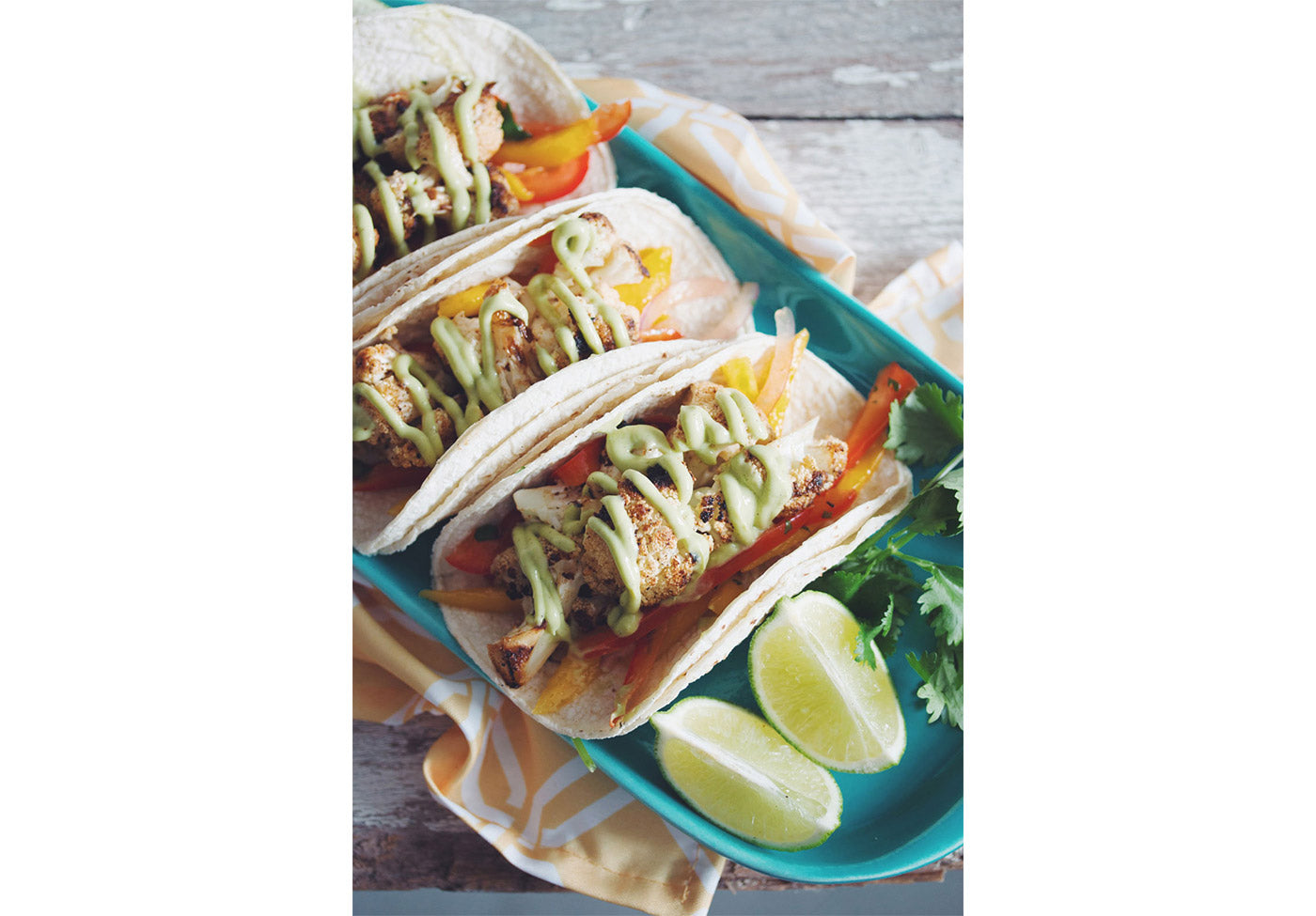 Grilled Cauliflower Tacos Vegan Recipe