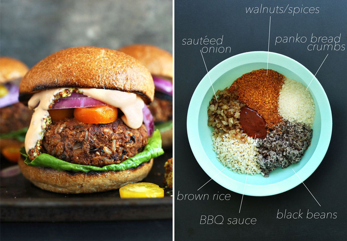 Vegan Barbecue Burger Recipe