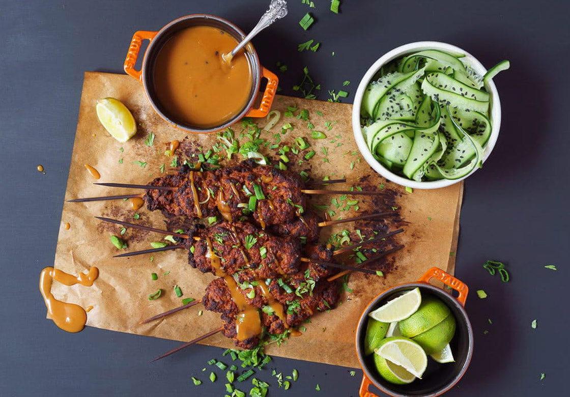 Vegan Barbecue Kebab Recipe