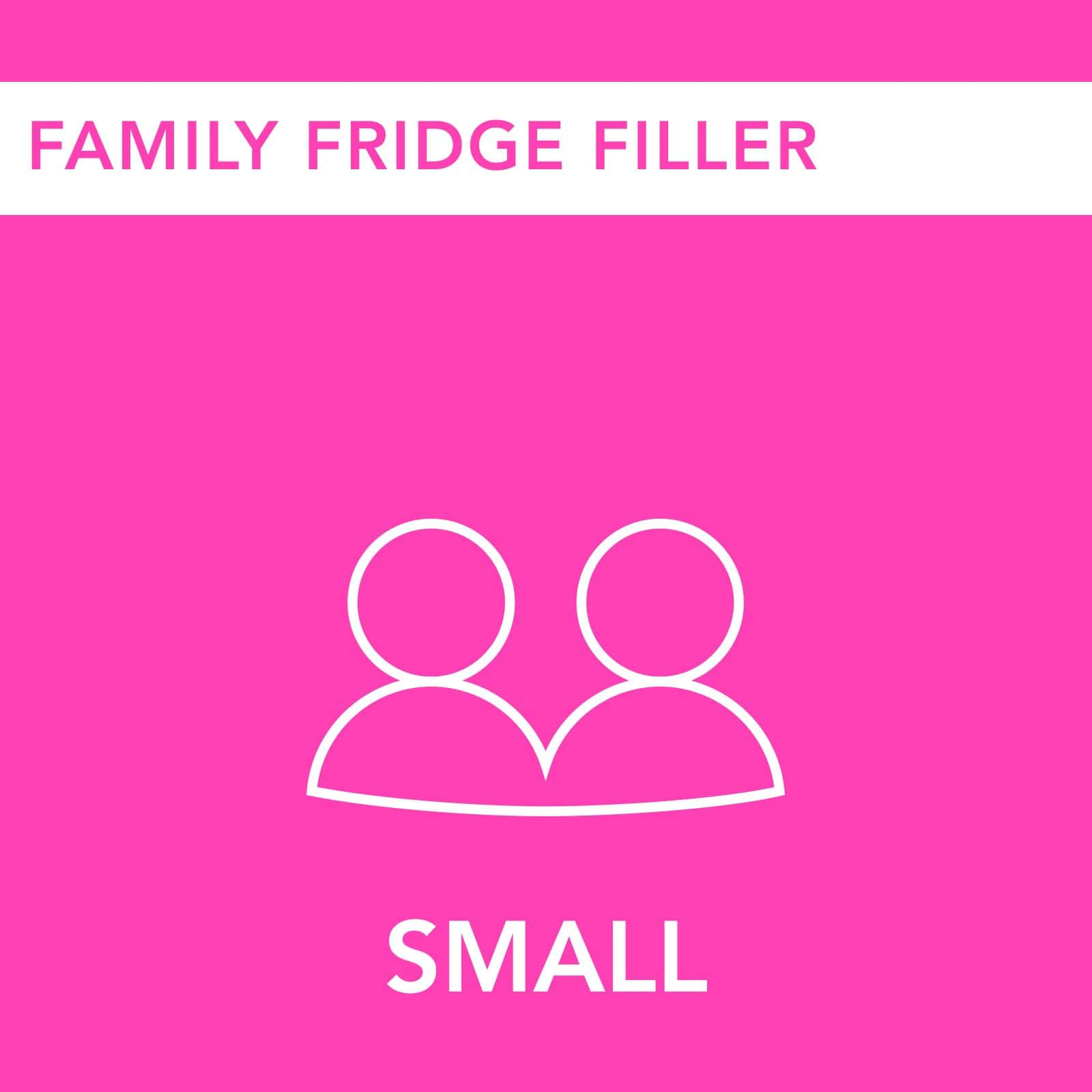Small Family Fridge Filler - PRESS London