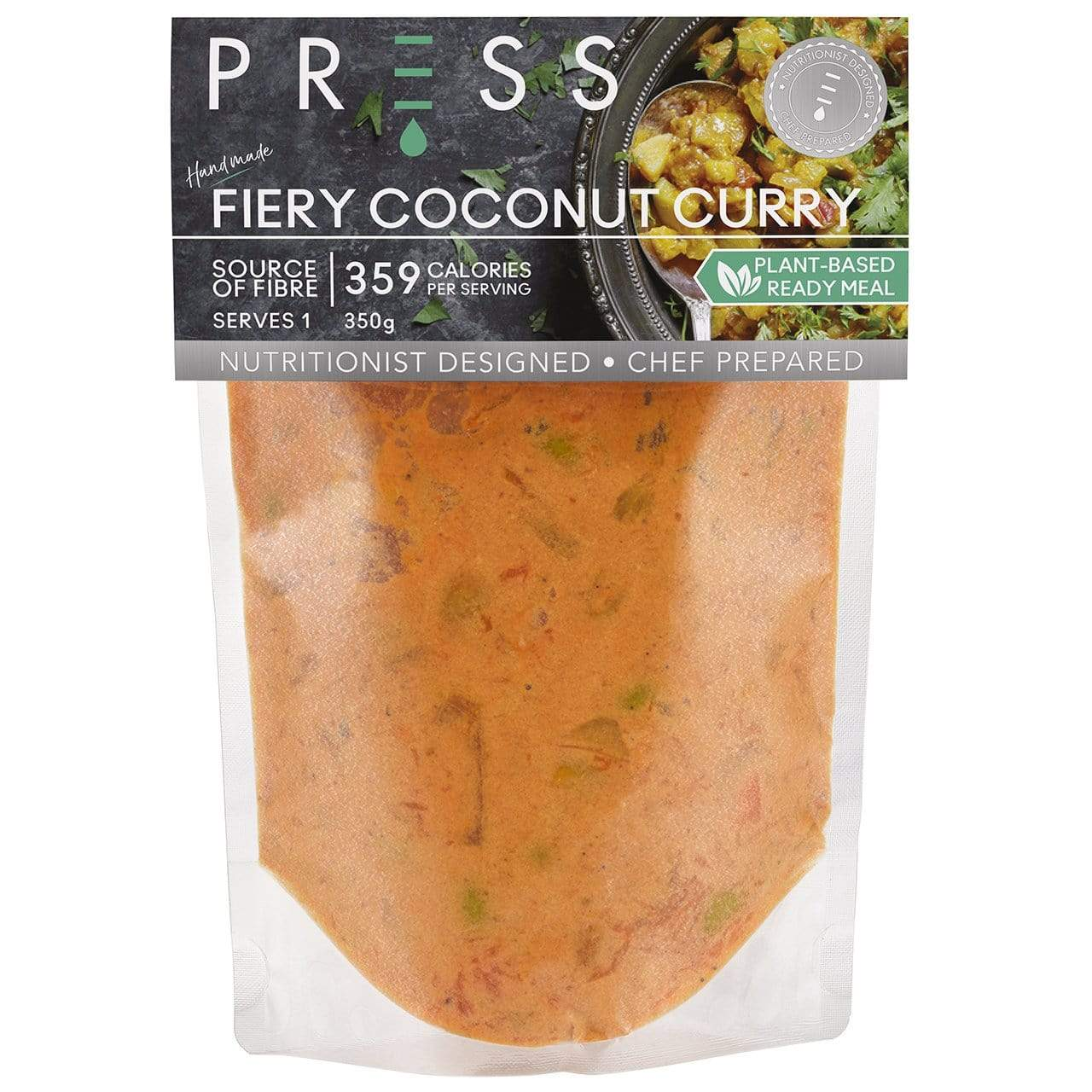 Fiery Coconut Curry - PRESS London