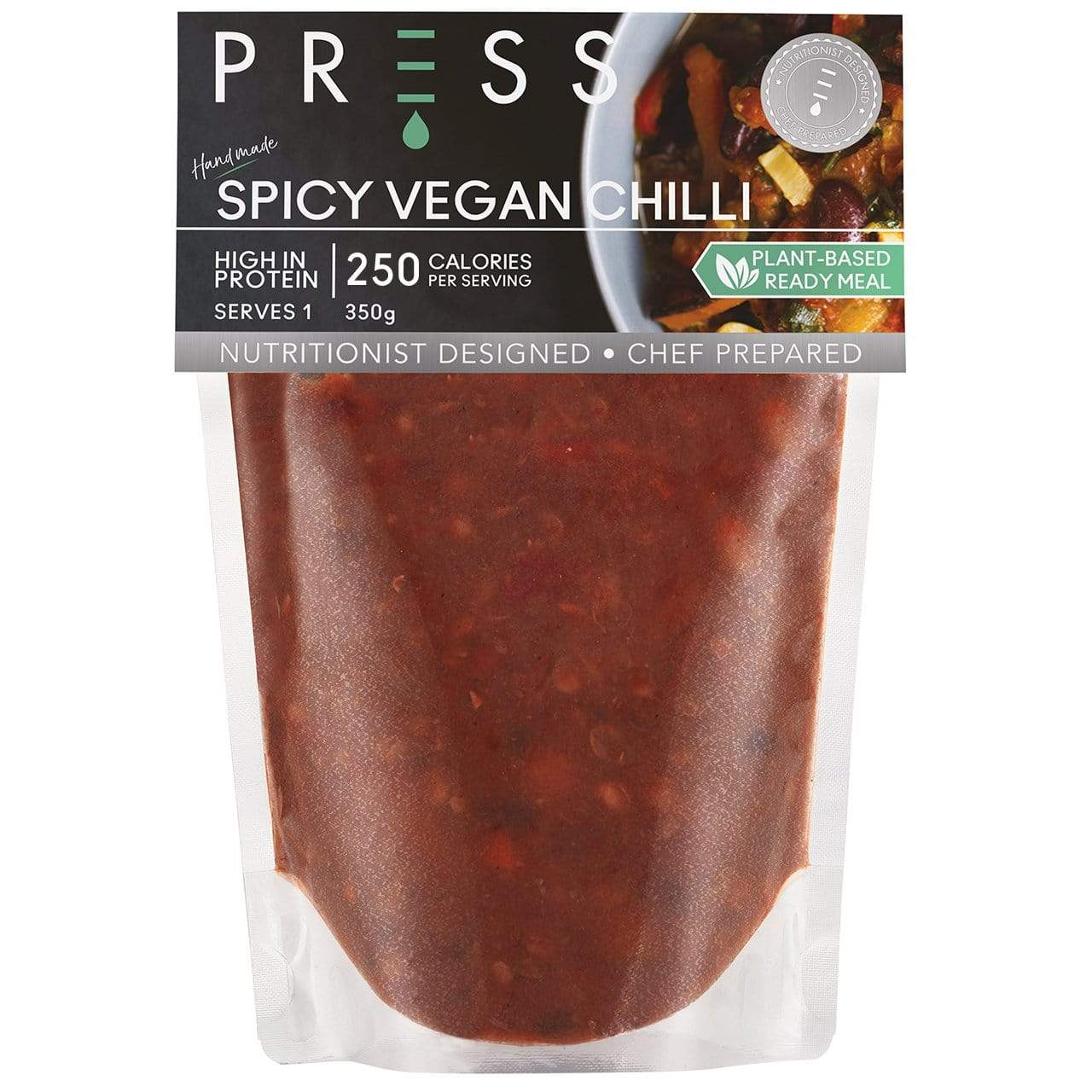 Spicy Vegan Chilli - PRESS London