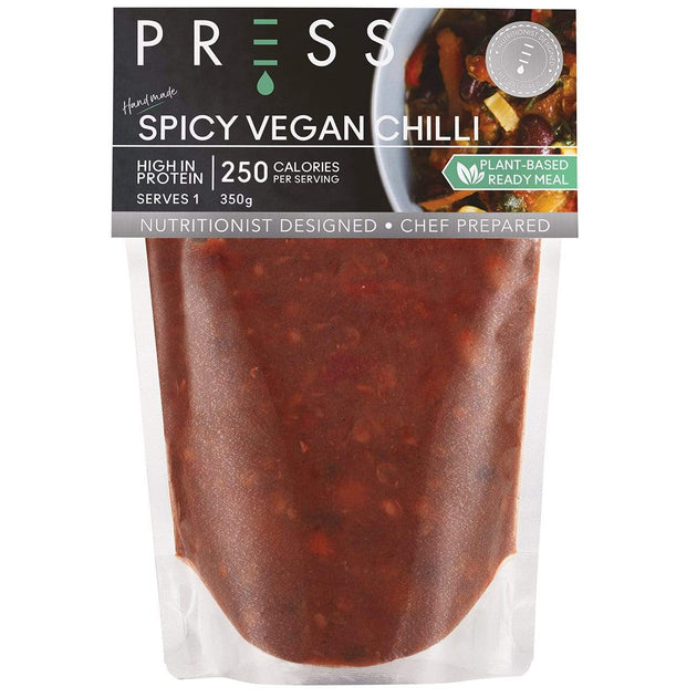 Image: Spicy Vegan Chilli - PRESS London