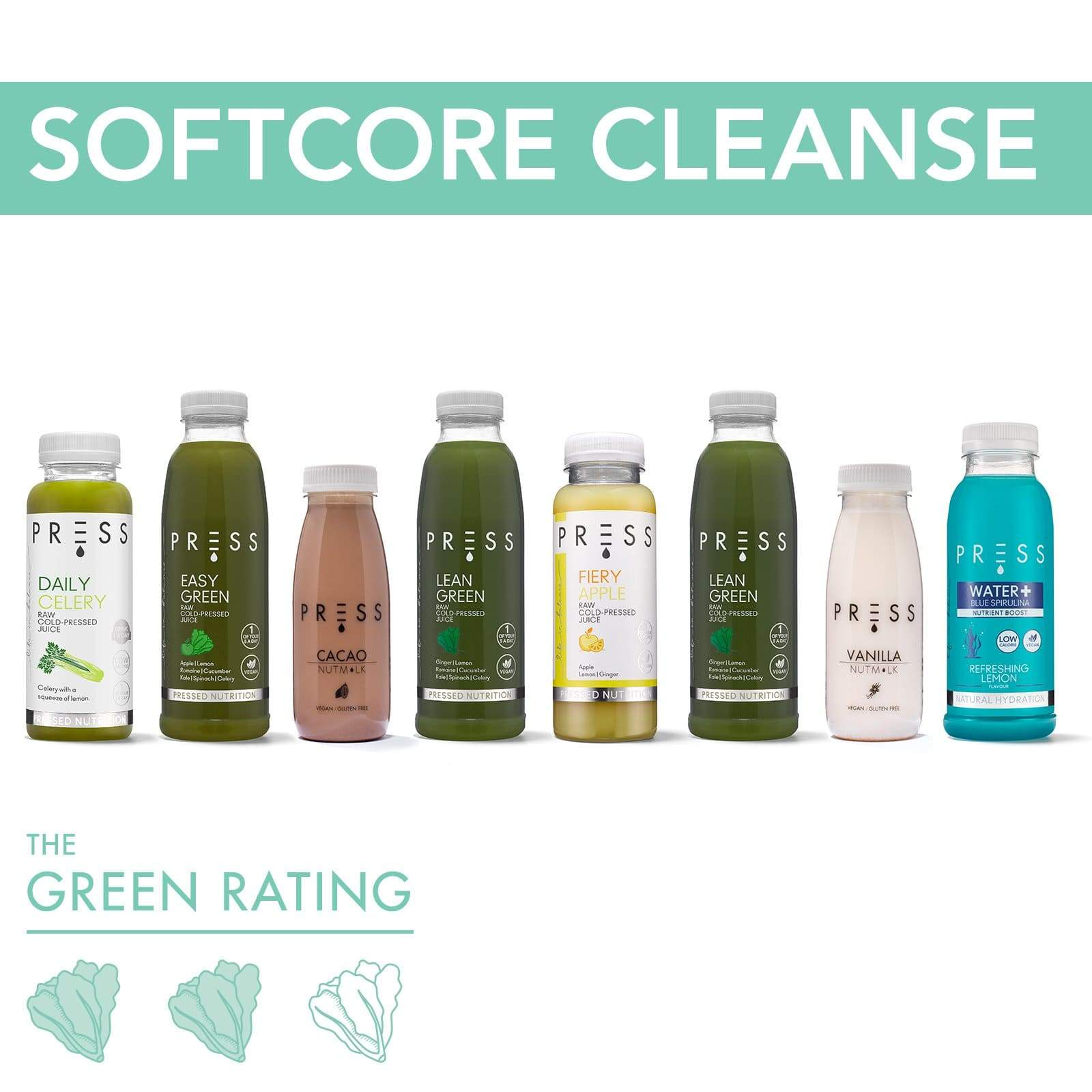 Softcore Juice Cleanse - PRESS London