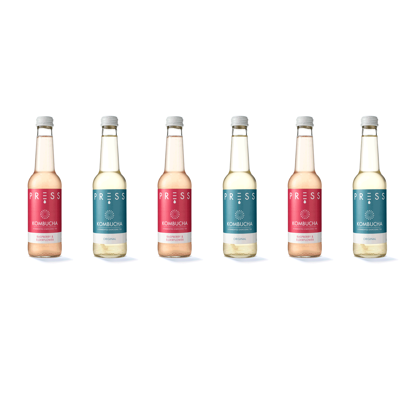 PRESS London Buy Kombucha Mixed Pack