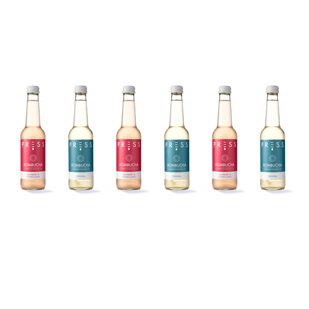 Image: PRESS London Buy Kombucha Mixed Pack