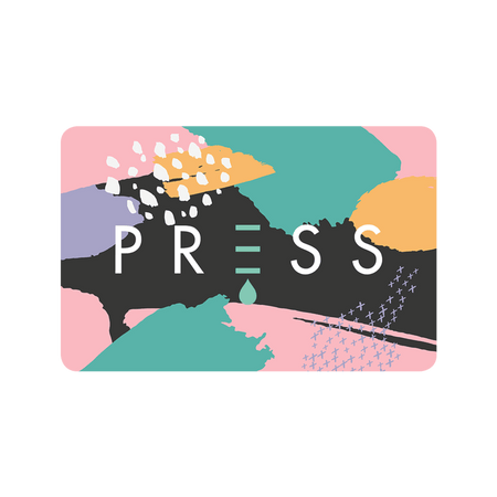 PRESS London Gift Card Available