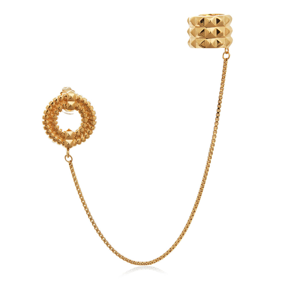 Apollo Ear Cuff </br>18ct Yellow Gold on Sterling Silver