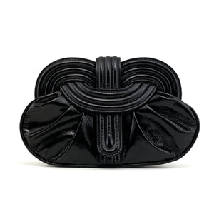 Bag Lunar Clutch </br> Patent Leather Black