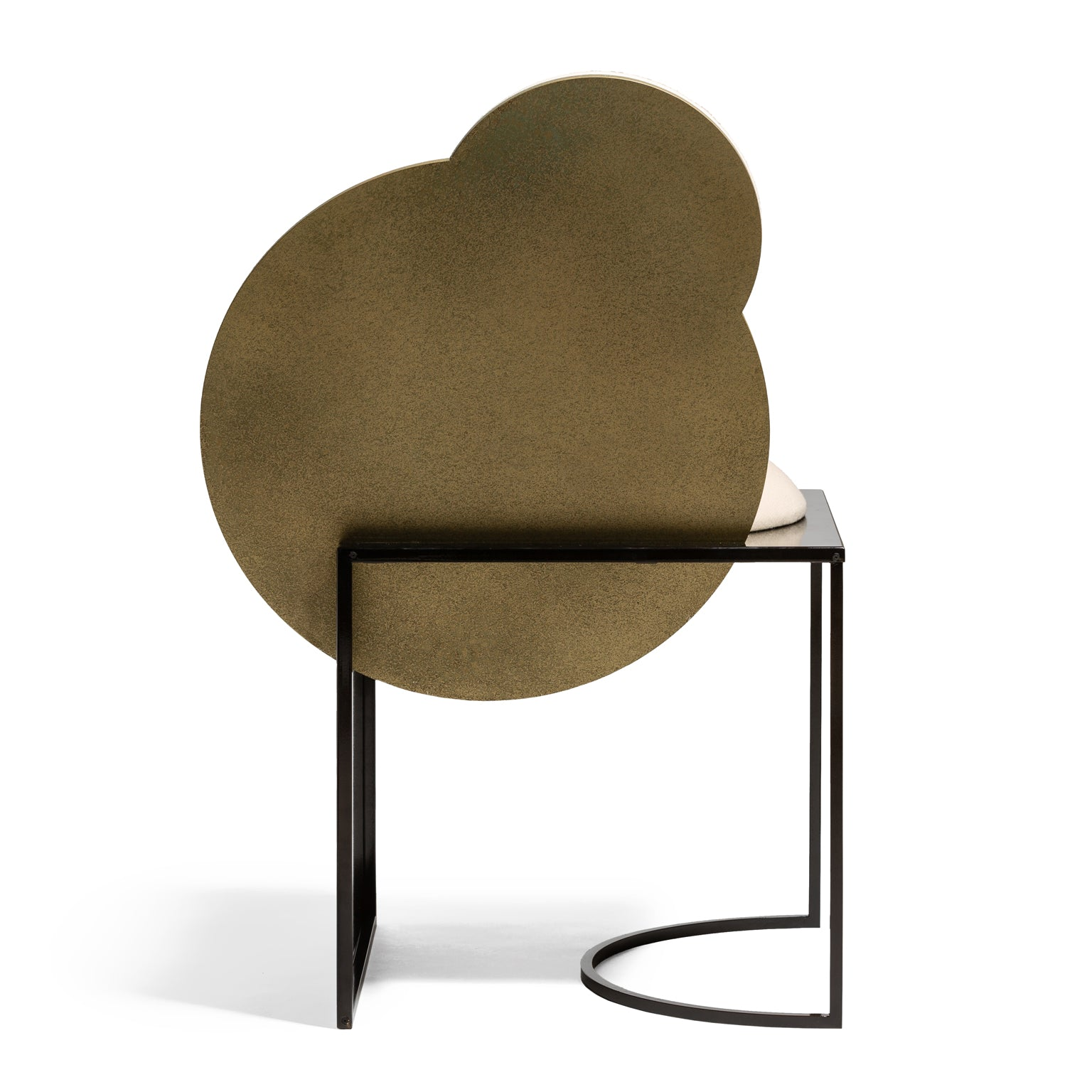 Celeste Chair </br> Steel and Wool