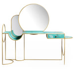 Celeste Console <br />Steel and Copper