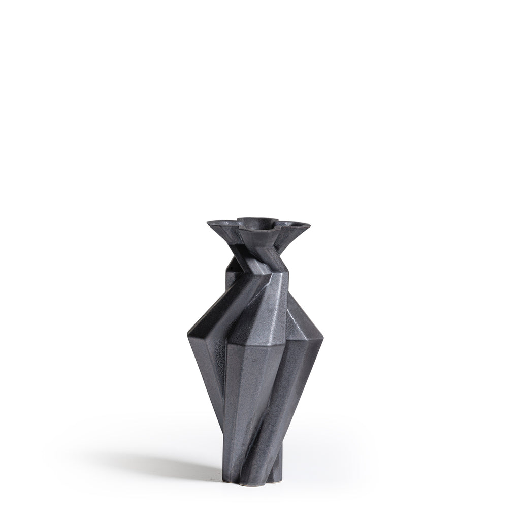 Fortress Spire Vase <br/> Iron Ceramic