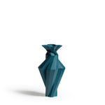 Fortress Spire Vase <br/> Blue Ceramic