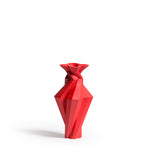 Fortress Spire Vase <br/> Red Ceramic