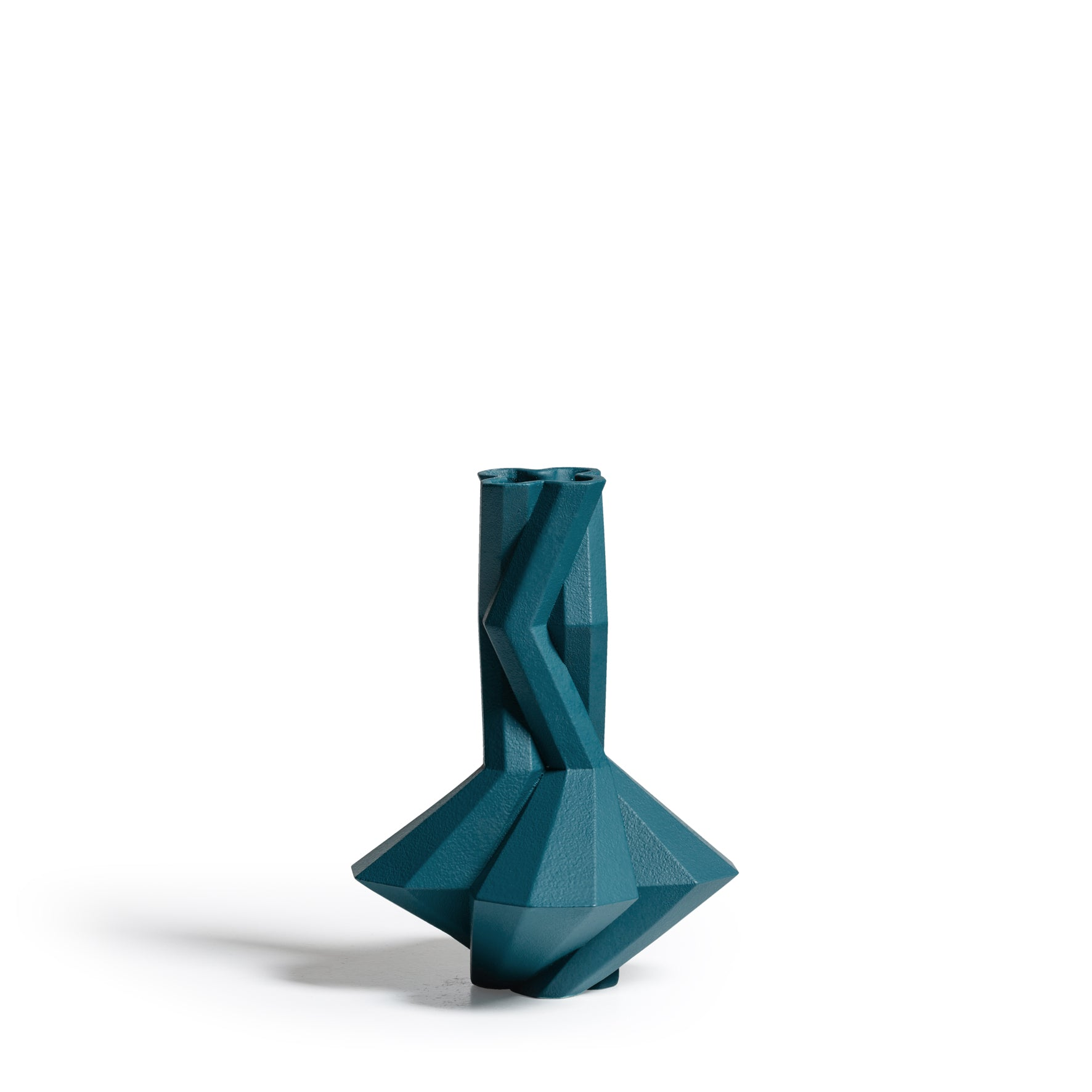 Fortress Cupola Vase <br/> Blue Ceramic