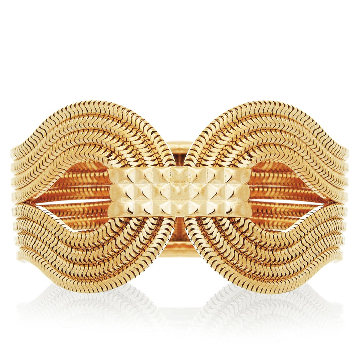 Gagarin Bracelet <br /> 22ct Yellow Gold on Brass
