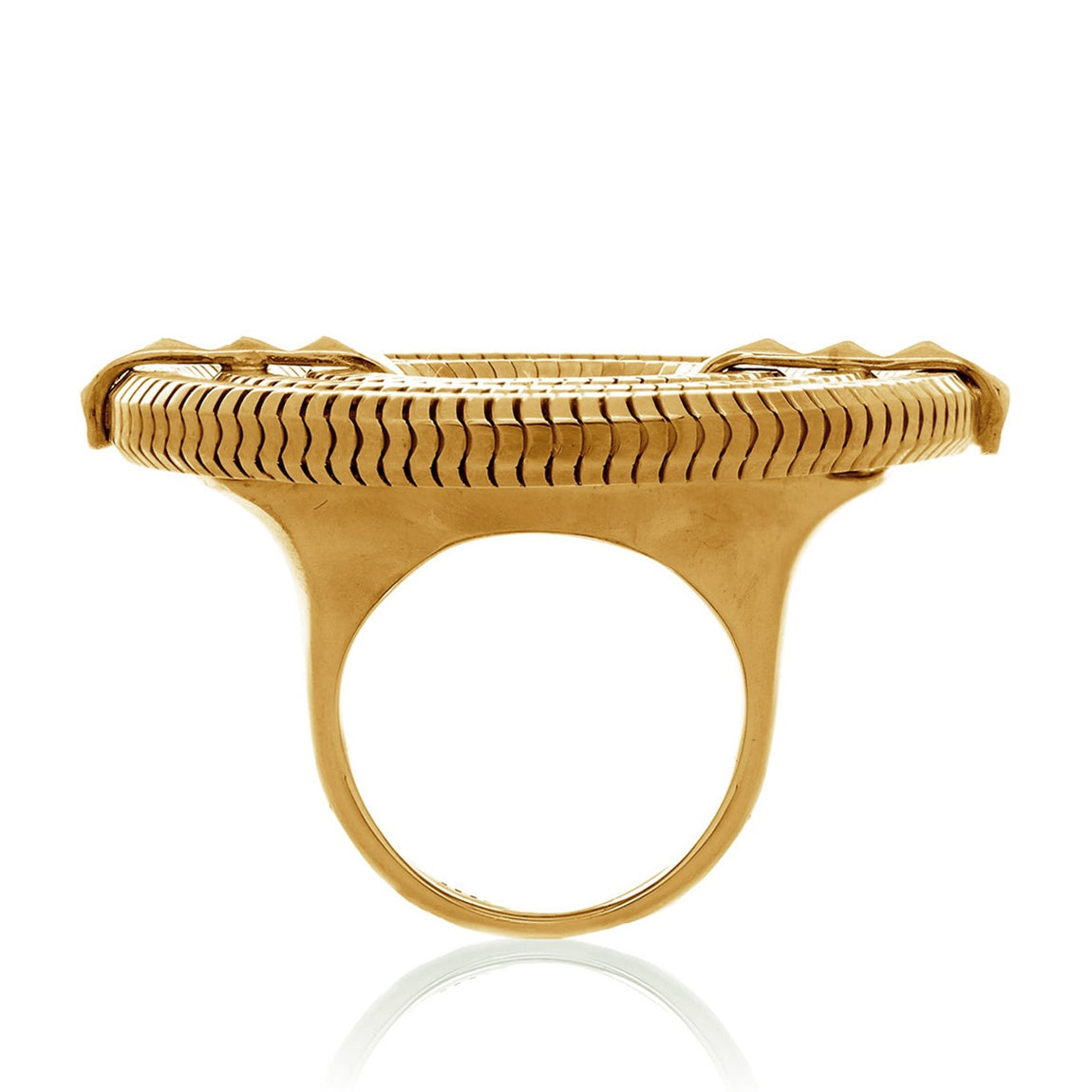 Apollo Ring <br />22ct Yellow Gold on Brass