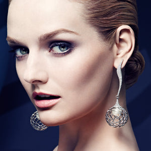 Palladium Earrings