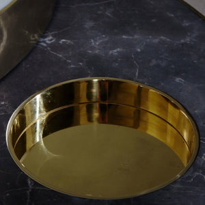 Solaris Kinetic Table </br> Marble with Brass