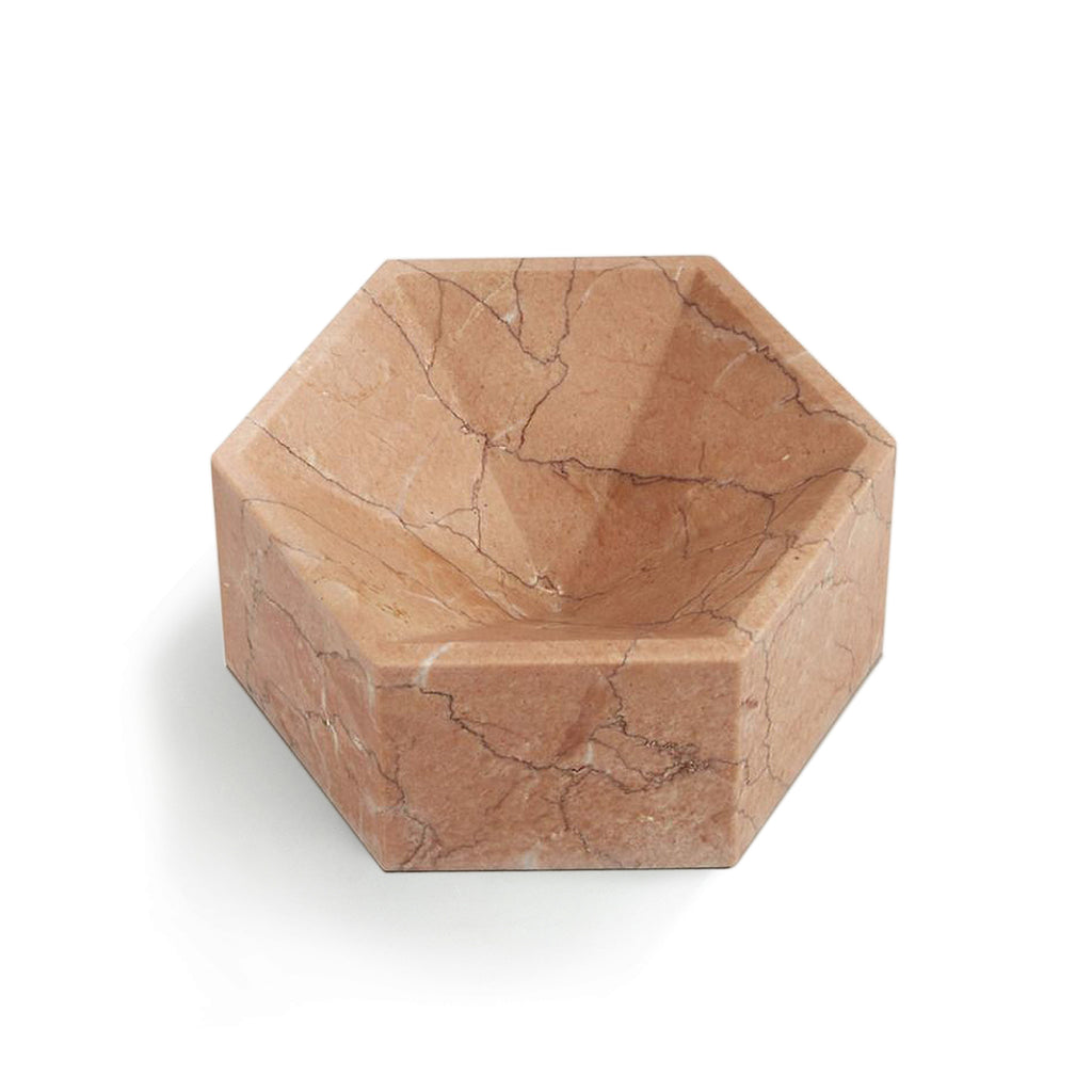 Hexagonal Constellation Bowl Small & High </br> Buiscaro Rosa
