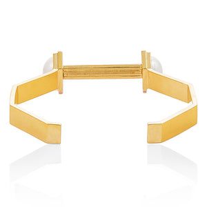 Moon Mechanics Cuff <br /> 18ct Gold Vermeil on Sterling Silver