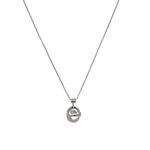 Planetaria Pendant 12 </br>Rhodium on Sterling Silver