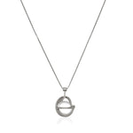 Planetaria Pendant 20 </br> Rhodium on Sterling Silver