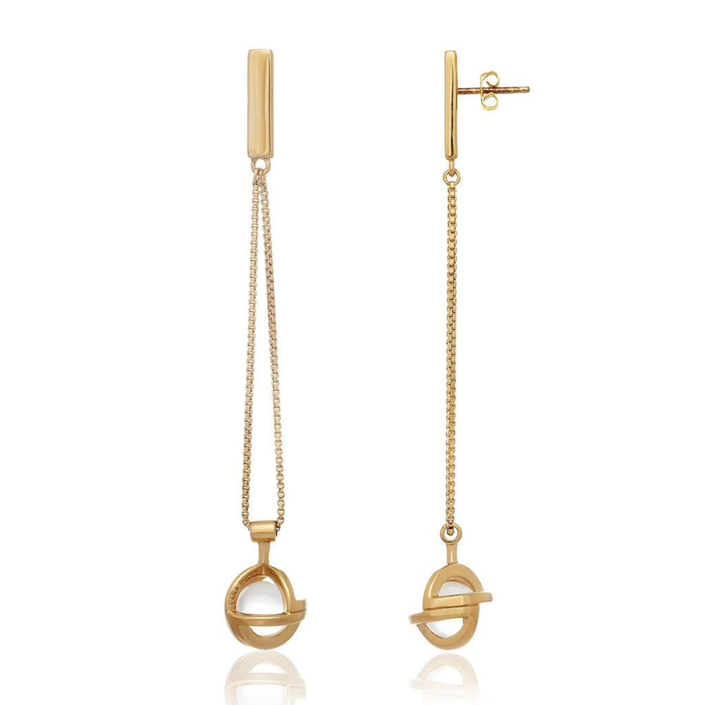 Planetaria Earrings 12 </br> 18ct Gold Vermeil on Sterling Silver