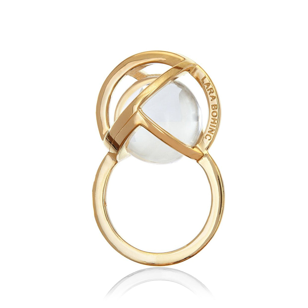 Planetaria Ring 20 </br>18ct Gold Vermeil on Sterling Silver