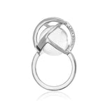 Planetaria Ring 20 </br>Rhodium on Sterling Silver