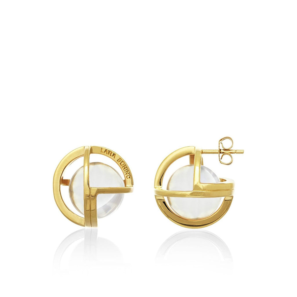 Planetaria 20 Stud Earrings </br>18ct Gold Vermeil on Sterling Silver