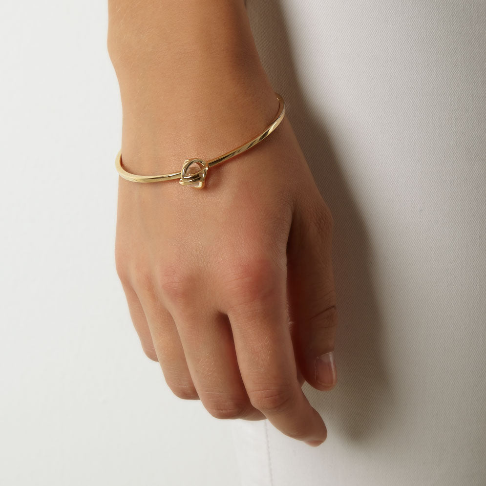Planetaria 12 Bangle</br>18ct Gold Vermeil on Sterling Silver