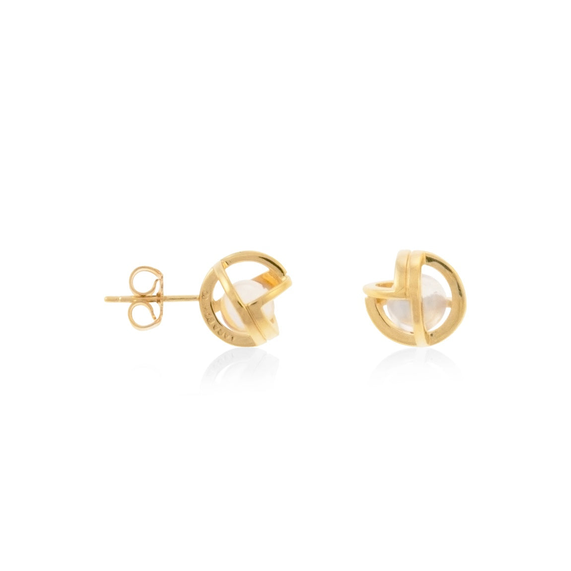 Planetaria Studs 10 </br> 18ct Yellow Gold on Sterling Silver