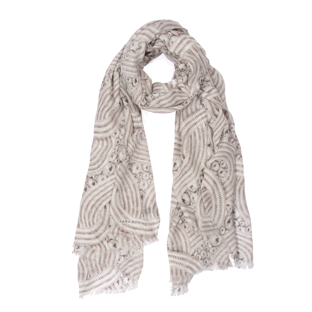 Lunar Eclipse Scarf </br> White