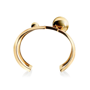 Solaris Constellation Cuff </br> 18ct Yellow Gold on Brass