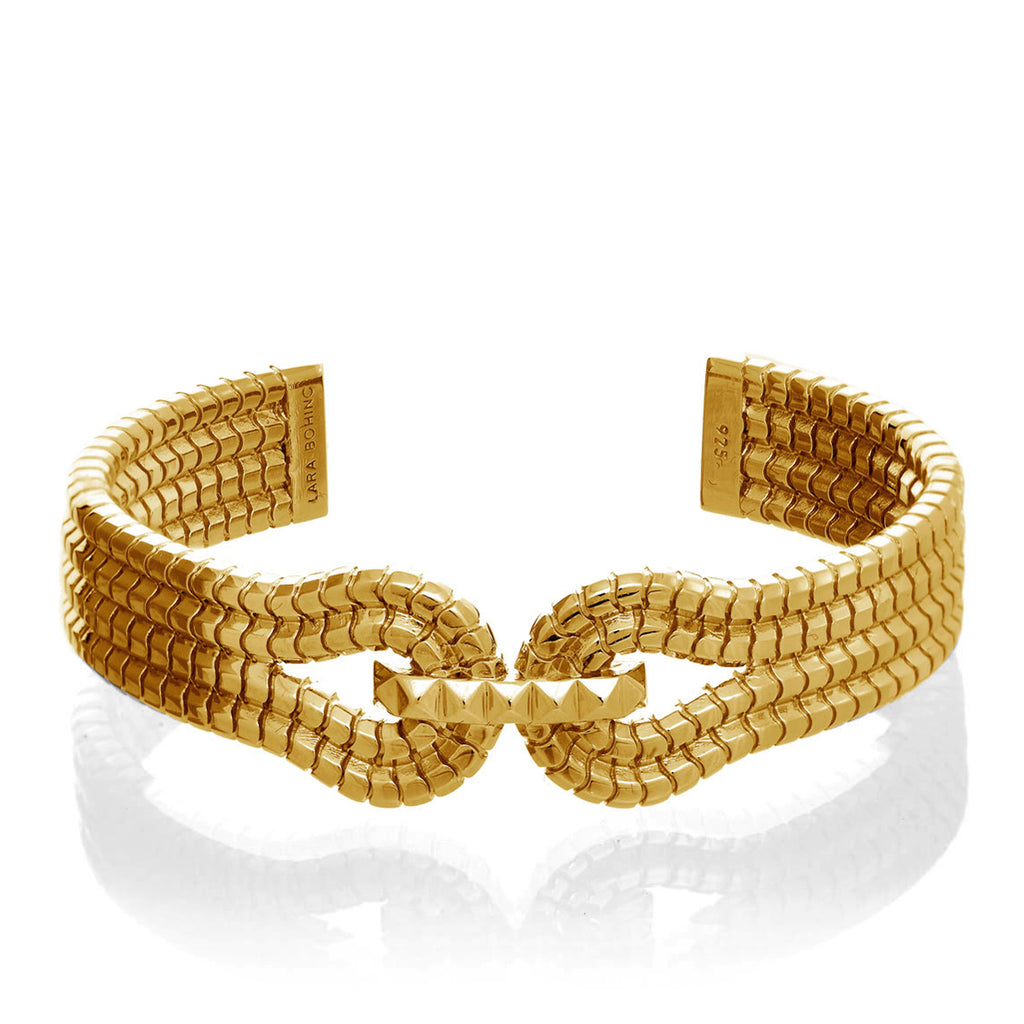 Gagarin Cuff</br>18ct Gold Vermeil on Sterling Silver